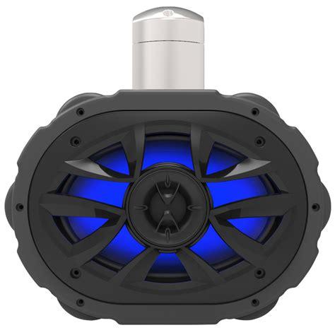 6x9 speakers with led lights saapni com boss 6x9 quot 2 way marine wake tower speaker