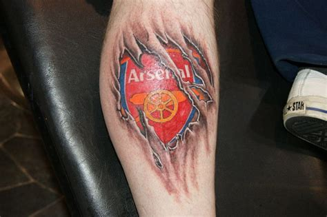 arsenal fc tattoo designs arsenal fc tattoos arsenal tattoos no1 football info