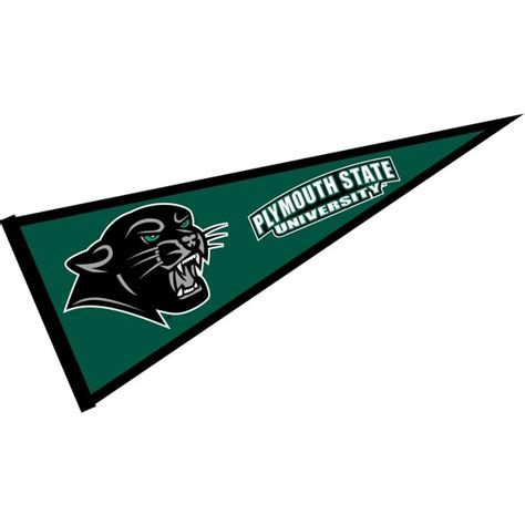 plymouth panther plymouth state panthers pennant your plymouth
