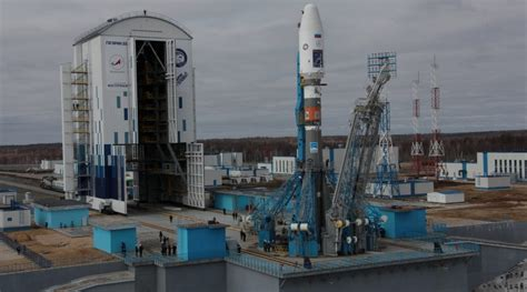 aborted soyuz launch countdown aborted for inaugural soyuz launch from