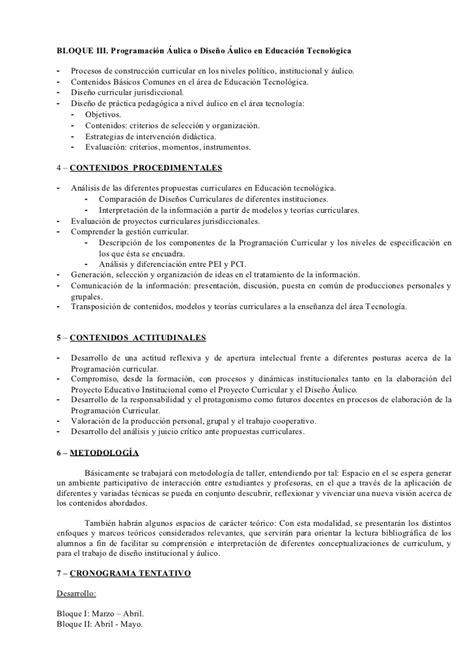 Diseño Curricular Jurisdiccional Definicion Planificaci 243 N 2006