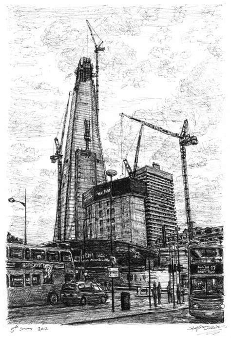 Construction of Shard of Glass (London) - Original
