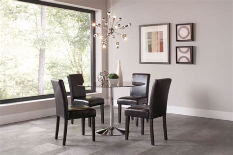 Chrome Dining Room Sets | clemente chrome dining room set 103000 coaster furniture