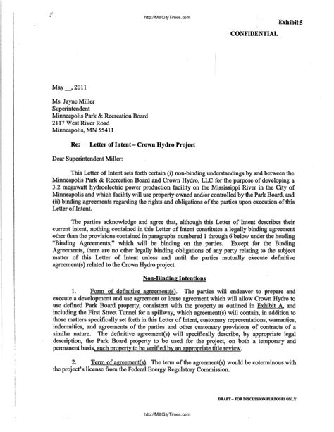 cancellation letter reply crown hydro response to ferc termination letter