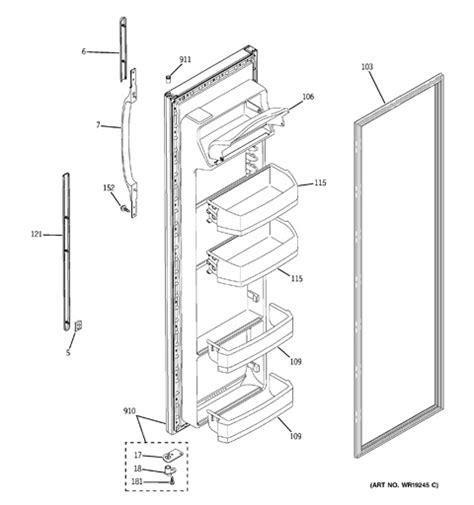 ge refrigerator wiring diagram gss20iepaww free