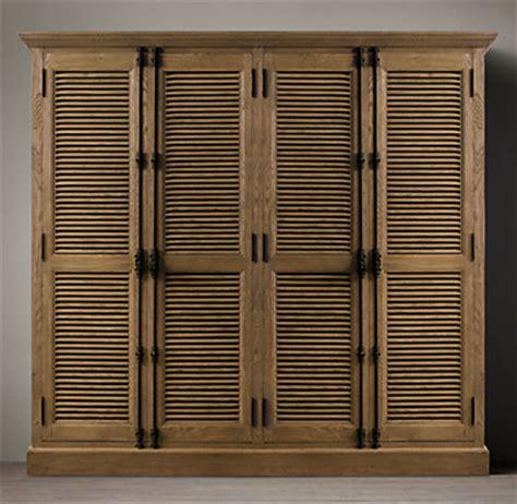 Shutter Cabinet Doors Shutter 4 Door Cabinet