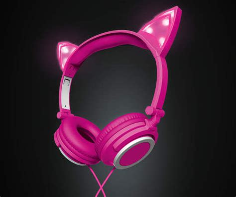 light up cat ear headphones cat ear headphones from big lots heraldextra com