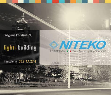 fiera illuminazione francoforte la niteko partecipa al light building di francoforte