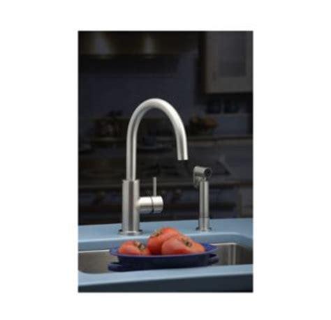 elkay allure kitchen faucet w side spray satin ss elkay lk7922sss satin stainless steel allure high arc