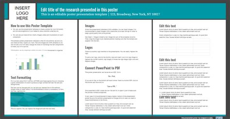 Presentation Poster Templates Free Powerpoint Templates Slides Poster Template