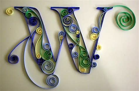 paper quilling alphabets tutorial all things paper even more quilled letters