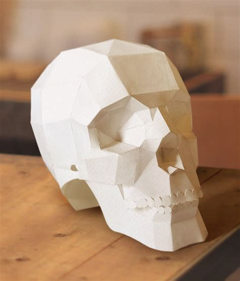Paper Craft Skull - paper craft skull choice image craft decoration ideas