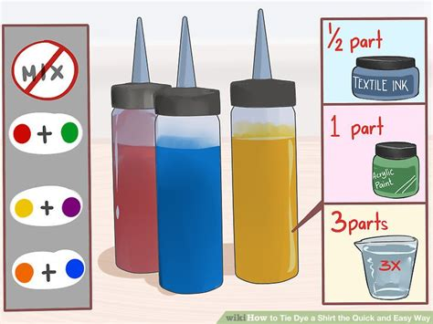 acrylic paint tie dye shirt 4 ways to tie dye a shirt the and easy way wikihow