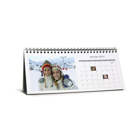 calendrier de bureau personnalis 233 mes souvenirs fr