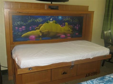 murphy beds orlando murphy bed opened picture of disney s port orleans