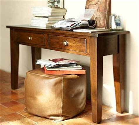 Pottery Barn Camden Coffee Table Camden Reclaimed Wood Rectangular Console Table Tuscan Chestnut Stain Traditional Coffee