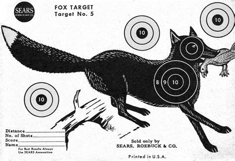printable animal targets project gridless assorted paper archery targets