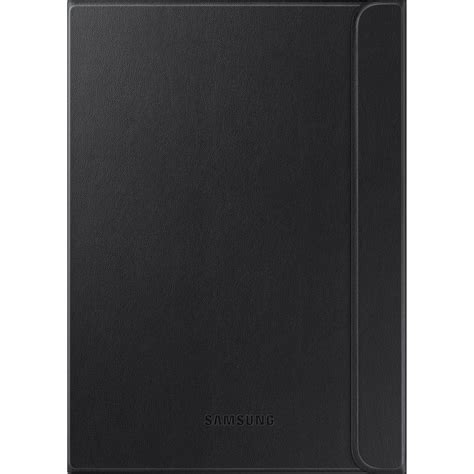 Samsung Original Black Book Cover For Tab S2 8 0 Inch samsung galaxy tab s2 9 7 book cover black ef bt810pbeguj b h