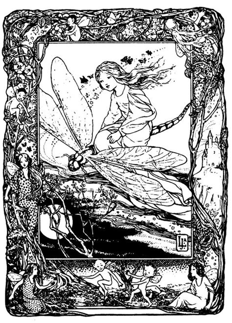 intricate dragon coloring pages intricate coloring pages for adults dragonfly and fairy