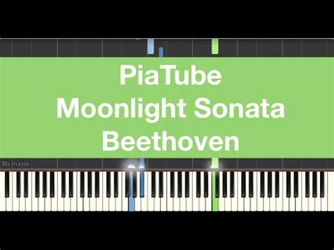 tutorial piano moonlight sonata how to play quot moonlight sonata beethoven quot piano tutorial