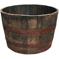 whiskey barrel planter casual cottage