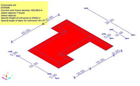 Drawing 90 Degree Autocad by An Easy Way To Draw A 3d Roof In Autocad 2004 2007