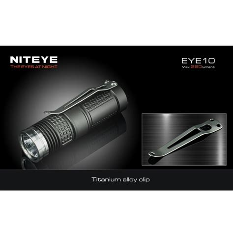 Niteye Eye30 Senter Led Cree Xm L U2 2000 Lumens niteye eye10 senter led cree xm l u2 260 lumens black jakartanotebook