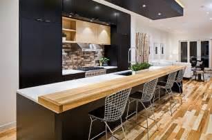Best Bar Cabinets Cuisine Et Bois Moderne Et 233 L 233 Gante