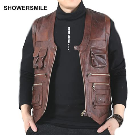 Cheap Hair Stylist Vest by Popular Leather Vest Mens Buy Cheap Leather Vest Mens Lots