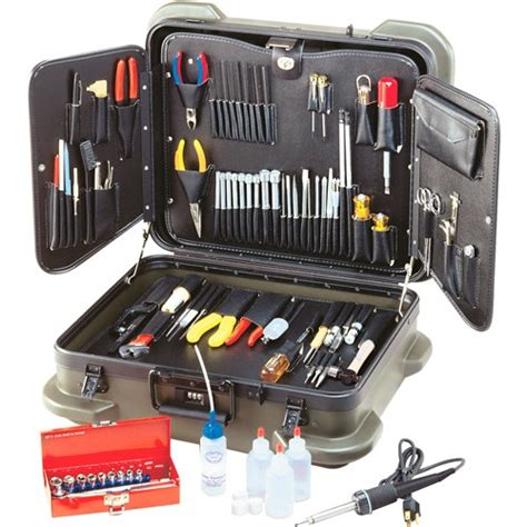 Electronic Survey Tools - jensen tools jtk 99r electronic technician s service kit in rugged duty poly case