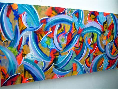 modern art large modern art canvas painting by seb farrington
