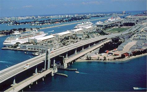 Car Rental Miami Port Cruise by Port Of Miami World S Busiest Cruise Port