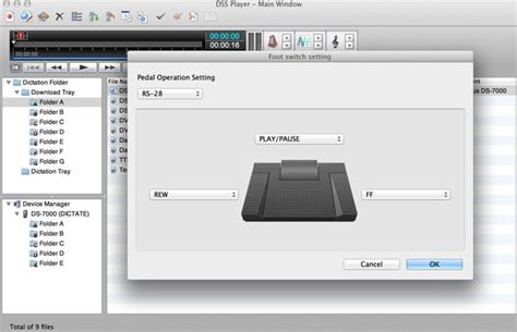 format audio dss olympus dictation software download mac