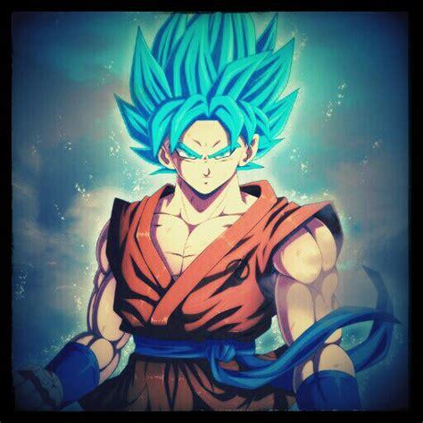 freetoedit son goku goku db dragonball ssj god blue ssj