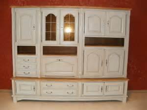 meuble chambre blanc vieilli design de