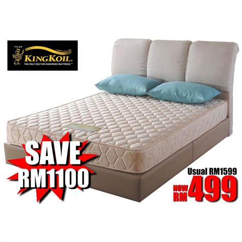 King Size Mattress Malaysia by King Koil Mattress Pillow Top Mattress See All