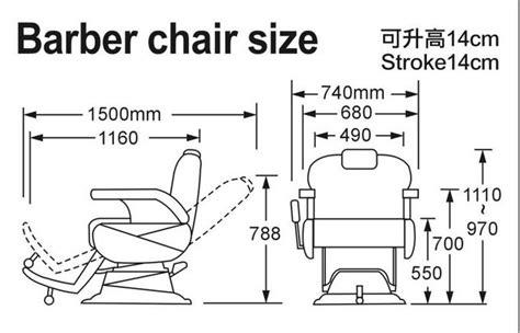 Nail Salon Floor Plan by Modern Chair Furniture Barber Chair Reclining Salon