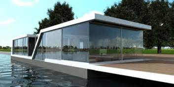 homes on water bedroom design floating glass house water villa