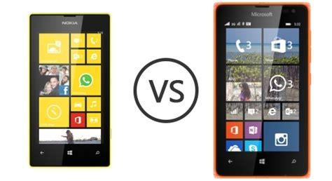 Hp Nokia Microsoft Lumia 532 nokia lumia 520 vs microsoft lumia 532 phone comparison
