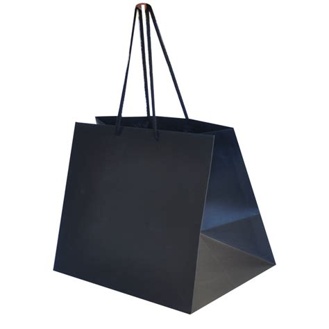 Take Away Box Bag From Os by Black Matt Paper Bags Paper Bags Wholesale Leisure