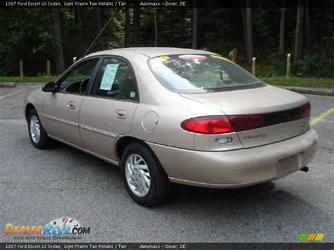 Light Motor 1997 Ford Escort Lx Sedan Light Prairie Tan Metallic Tan