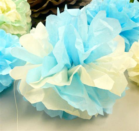 How To Make Tissue Paper Puffs - crafty project decorative tissue paper puffs look