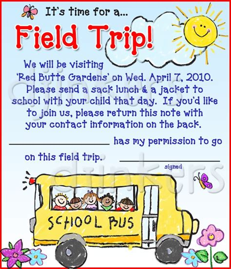 Cute Preschool Kindergarten Kids Clip Art By Dj Inkers Dj Inkers School Field Trip Flyer Template