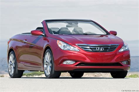 hyundai convertible 2011 hyundai i45 convertible speculation photos 1 of 4