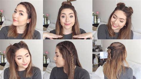 peinados cortos faciles peinados f 193 ciles para cabello corto o mediano hairstyles