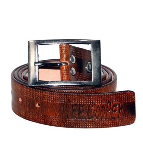cooper leather belt for price