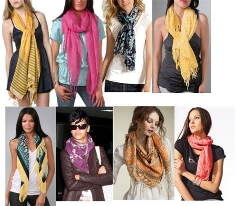 how to wear a scarf the winter fashion accessory