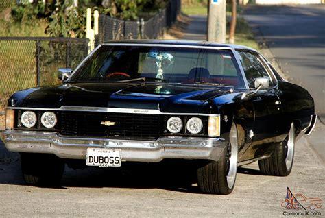 74 chevy impala 1974 74 chevy impala black coupe 350 v8 auto rwc in