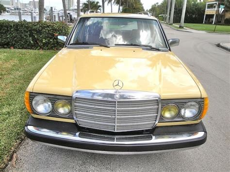 Mercedes Diesel Cars For Sale by 1982 Mercedes 300tdt Turbo Diesel Wagon For Sale