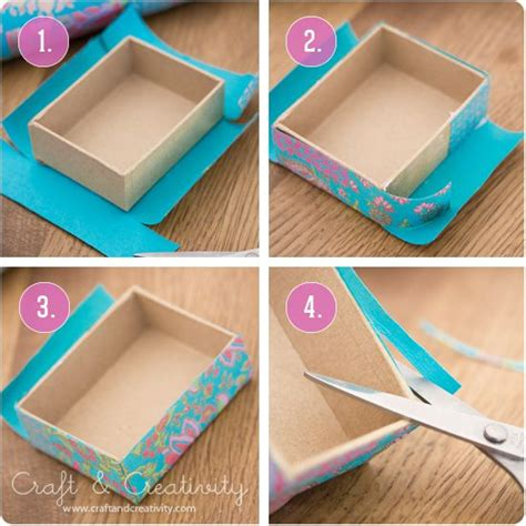 How To Make A Box Out Of Wrapping Paper - diy gift box secret pal ideas from author chelly wood